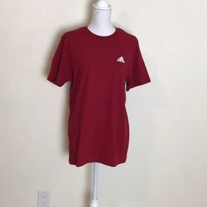 NWT | mens Adidas tee | red shirt | New short tee